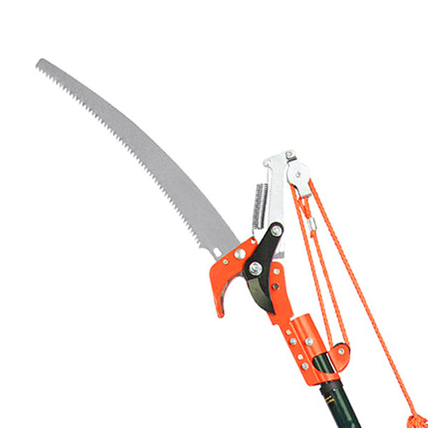 free shipping high altitude 3 pulley pruning scissors tree trimmer garden shears branches cutter saw fruit pick cutting tool without rod