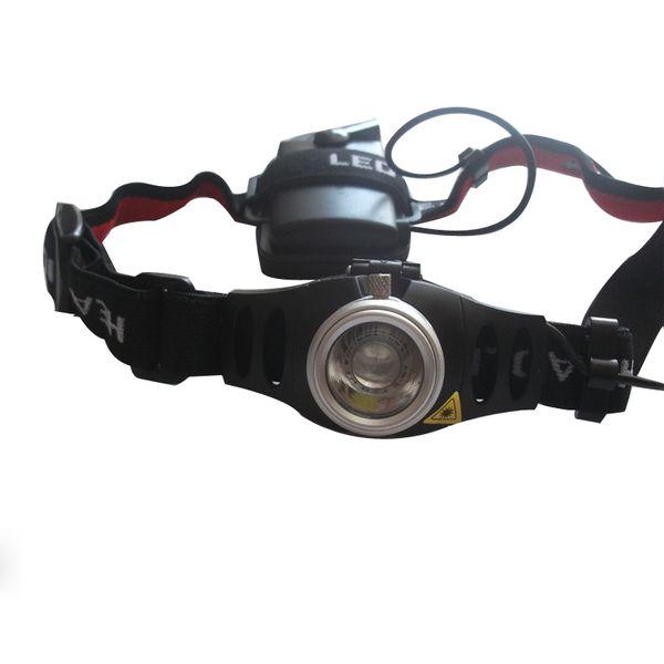 Ultra Bright Headlamp CREE Q5 Headlight Warning Flashing Outdoor Flashlight Head Light Portable Camping Headlamp SP-LH3w-S