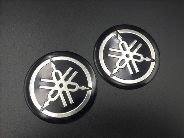 top popular Motorcycle Fuel Gas Tank Emblem Decal Tuning Fork Logo for Yamaha Fairing Badge Racing Bike Automobiles Stickers 2019