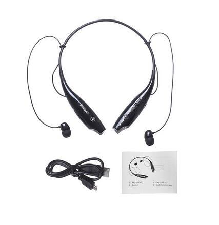 Wireless Bluetooth Headset HandFree Sport Stereo Headphone With MIC Listen Music Strong Bass HV800 For Phone