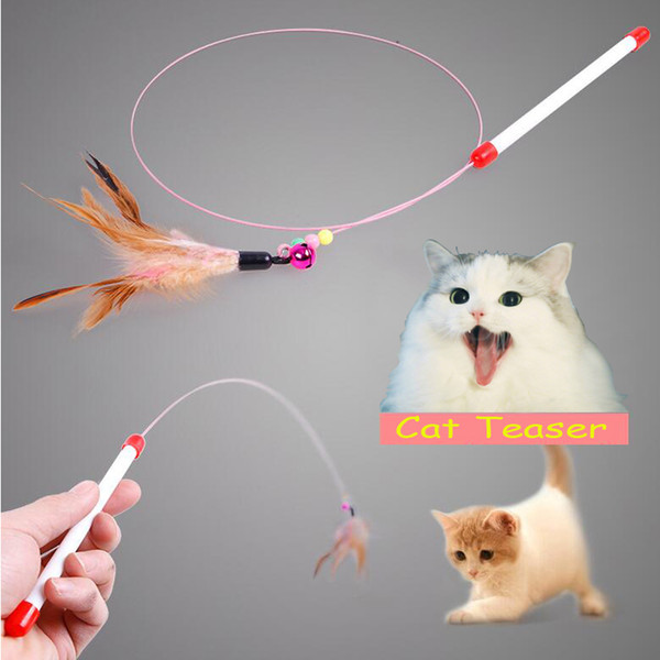 wholesale cat teaser funny pet supplies cat toy for pet store soft kitten toy purr purr