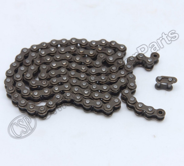 Wholesale- 48 96 Chain Link 25H 47CC 49CC Mini Moto Pocket Dirt Pit Super Bike ATV Quad Scooter Chopper Buggy