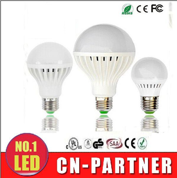 x60 Energy Saving SALE 110V 220V LED Bulbs E27 B22 Lights 3W 5W 7W 9W 12W LED Light Globe Lamp Lighting Bulbs Spotlight LED