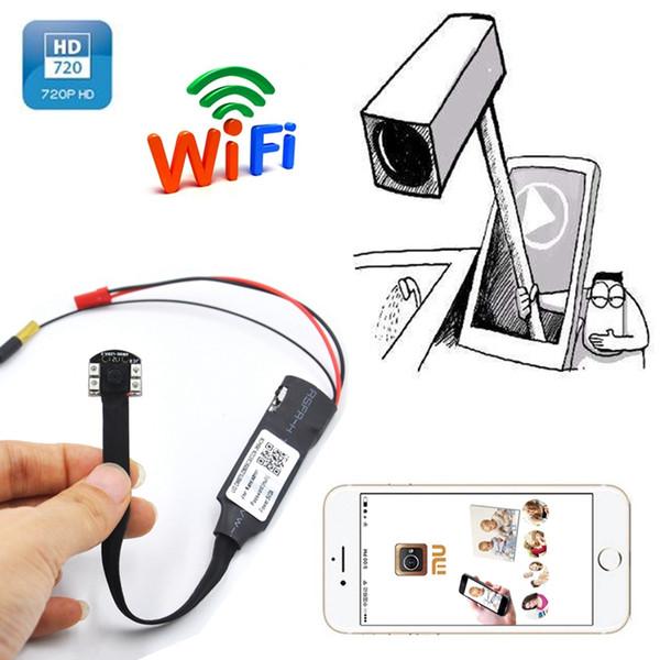 1920*1080P wifi mini IP Camera Support Night vision Full HD DIY Module camera Mini DV DVR Wireless Surveillance mini Camera video recorder