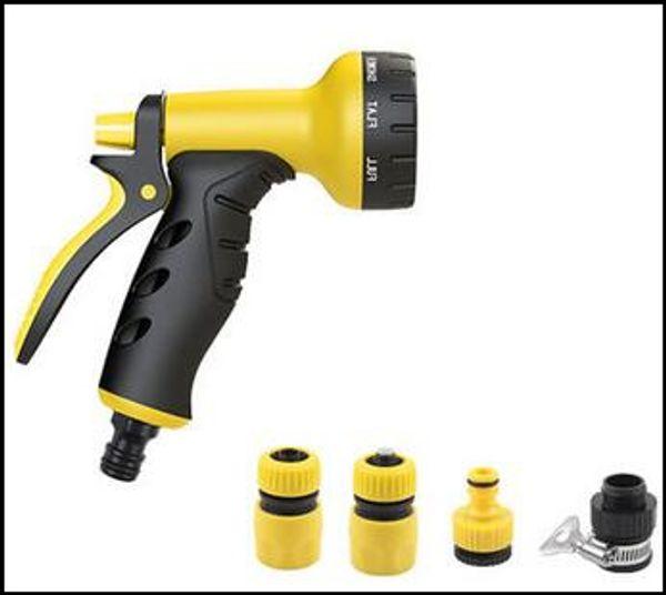 Yüksek basınçlı işlevli Araba motosiklet yıkama su tabancası, Ev su topu, makine temizleme püskürtme tabancası (su borusu olmadan)