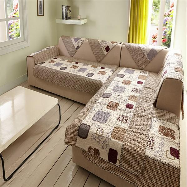 Groovy Durable Polyester L Shaped Sofa Covers Printed Sofa Cover Set Couch Cover Cape Slip Resistance Sectional Sofa Covers Machine Washable Dining Room Cjindustries Chair Design For Home Cjindustriesco