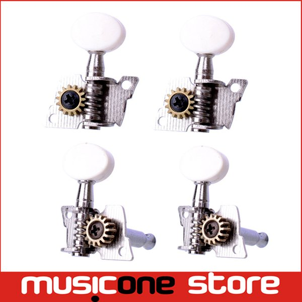 best selling A set of 2R2L Opened Ukulele Tuning Pegs Machine Heads Tuners For Ukulele Free shipping MU0214