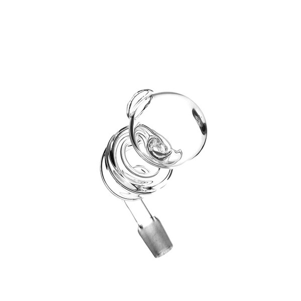 New arrvial helix nail banger glass pipe two functions oil burner for somking glass bongs pipes accessories