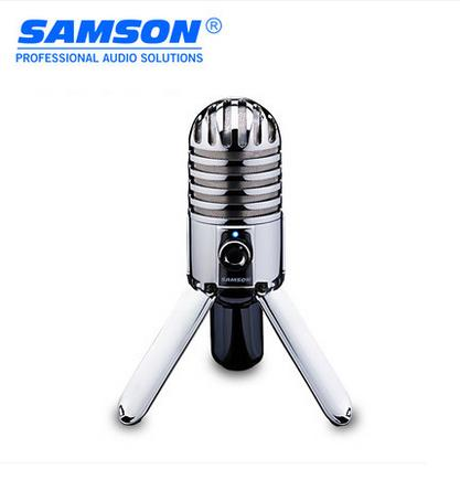 High quality SAMSON Meteor Mic USB condenser microphone Studio Microphone Cardioid for computer notebook network Free shipping