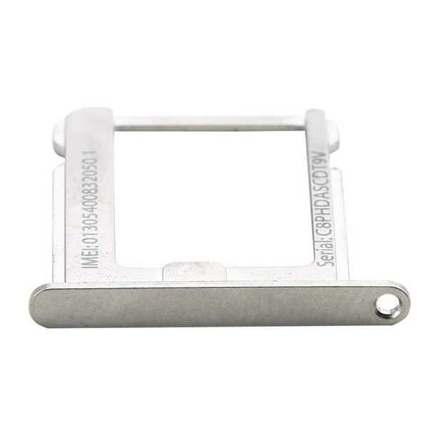 Wholesale-Wholesale 1Pcs/lot Micro SIM Card Tray Holder Slot Replacement for Apple for iphone 4 4G 4S 4th Free Shipping