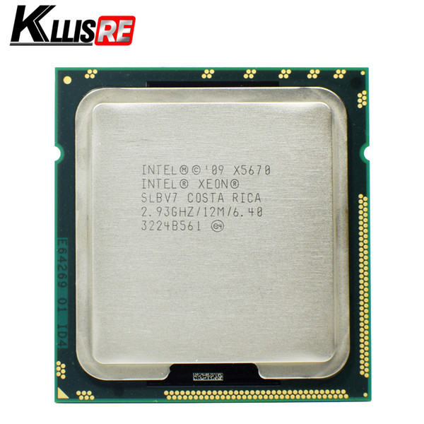 Intel Xeon X5670 Processor 2.93GHz LGA1366 12MB L3 Cache Six Core server CPU