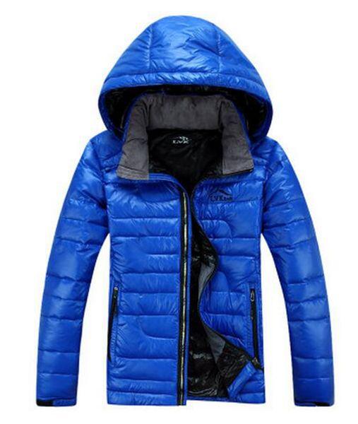 Açık termal yepyeni otantik ahlak erkek kapüşonlu fermuar ultralight ince aşağı ceket ceket yetiştirmek. S - 3xl