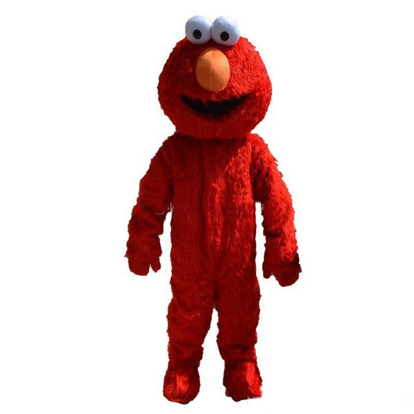 best selling 2018 professional Make elmo mascot costume adult size elmo mascot costume free shipping