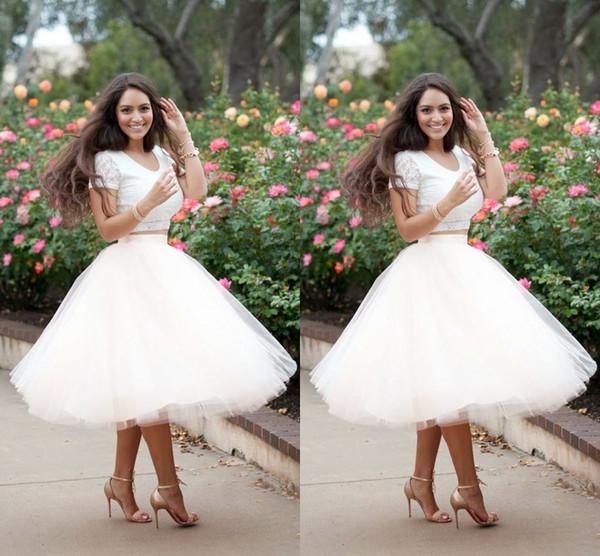 Artı Boyutu Kadınlar Için Yaz Etekler Tül Beyaz Kısa Etekler Tutu Diz Boyu Kabarık Parti Elbiseler Resmi Etek Maxi Etek