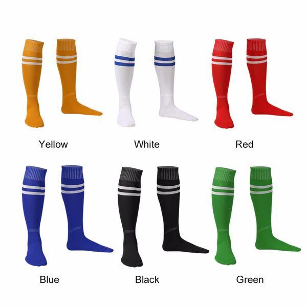 1 Pair Sports Socks Knee Legging Stockings Soccer Baseball Football Over Knee Ankle Men Women Socks free shipping