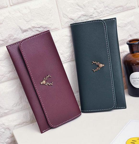 Korean New Style Ladies Wallets Iphone Case Handbag Purse For Women Girls