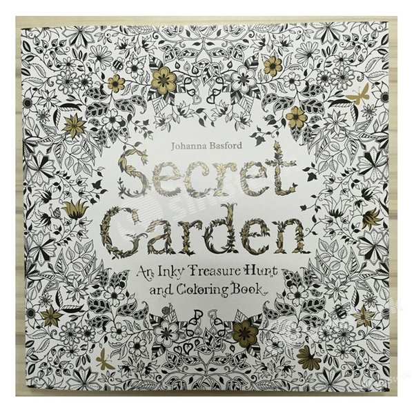 Secret Garden Enchanted Forest Lost Ocean Colouring Book An Inky