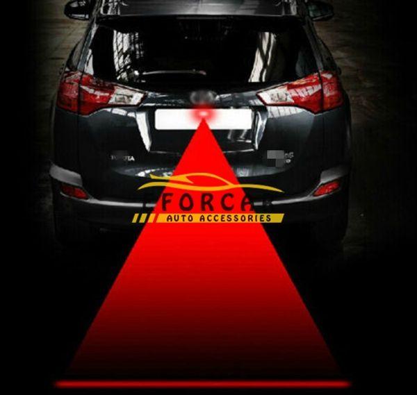 best selling Rainproof Car Led Laser Fog Lights Lamp bulbs Auto 12V-24V Anti Collision LED Warning Tail Lights Brake Parking Signal Lights