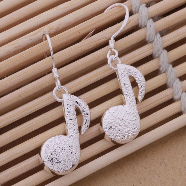 Mode (Jewelry Manufacturer) 40 Stück viel Hinweis Ohrringe 925 Sterling Silber Schmuck Fabrik Fashion Shine Ohrringe