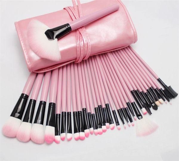 Hot 32pcs Professional Makeup Brushes Set Tools Pro Foundation Eyeshadow Brushes Superior Soft Eyeliner Make up Brushes