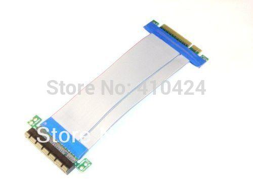 10pcs/lot NEW Micro SATA Cables - PCI-E Express 8X Riser Card with Flexible Cable order<$18no track