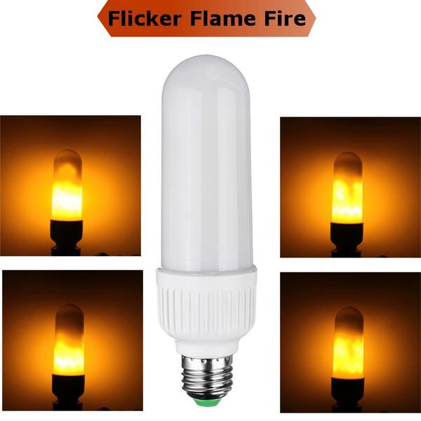 E27 LED Flicker Flammeneffekt Feuer Glühbirnen Flackernde Lampe Dekoration Lampe