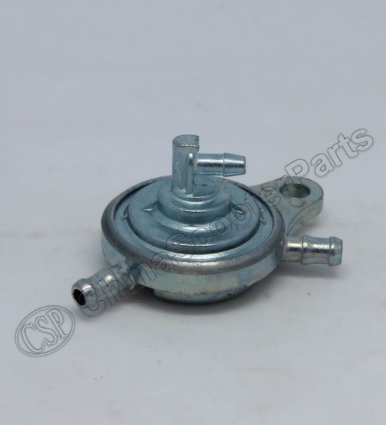 Wholesale- GY6 Motorcycle Fuel Pump Petcock Valve Gas Tank Fuel Switch 3-way for 50cc~150cc Moped Scooter Go-Kart ATV Quad Pit bike