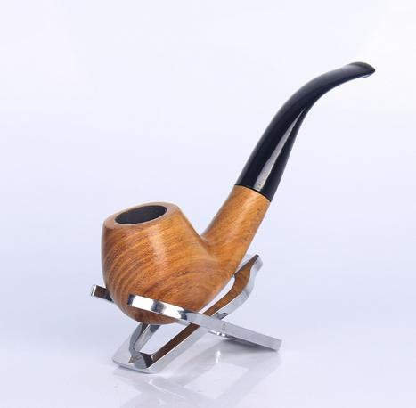 Wholesale hot sell Smoking Accessories 9mm Handmade Macassar Ebony tobacco pipes filter 1380