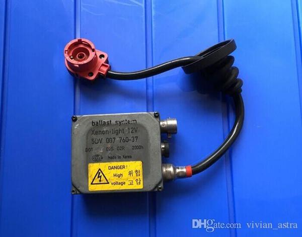Genuine OEM ballast D2S D2R xenon hid ballast 5DV 007 760 hid control unit module (used) free shipping post
