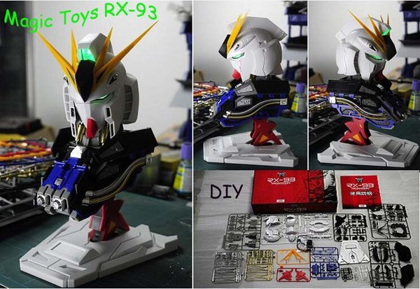 2019 New Magic Toys 1/35 Scale RX 93 Nu Gundam Head Plastic Model Kit  Children'S DIY Birthday Gift Collection From Bbstore2011, $44 23 |  DHgate Com