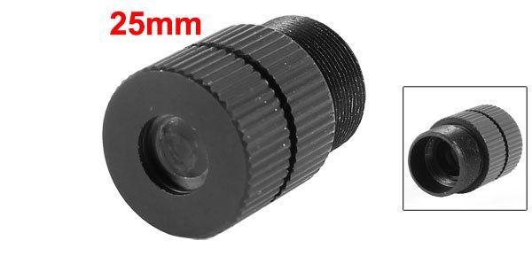 Replacement Black CCTV Box Camera 25mm Focal Length Board Lens F1.2
