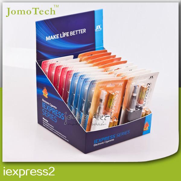 Wholesale-New Jomo iexpress 2 Rechargeable Hookah Pen Vaporizer Disposableatomizer Electronic Cigarette Mini E Cigarette Mod Kits