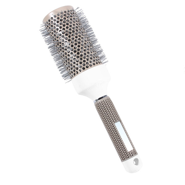 Ionic Boar Bristle Hair Brush Salon Comb Blow Dry Hair Round Brush In 4 Sizes Professional Salon Styling Tools