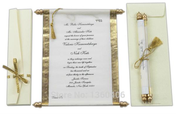 Wedding Invitation Scrolls Wholesale was Nice Ideas To Make Nice Invitation Ideas