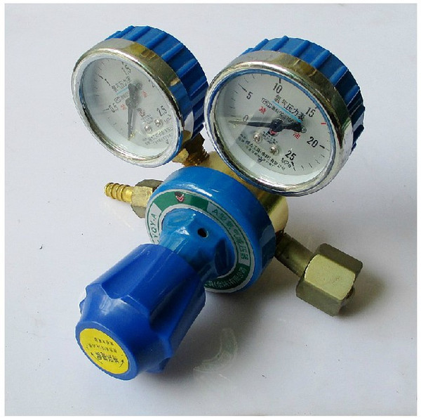 top popular Wholesale-Manometer A Powerful Tool Table Type Oxygen Cylinder Pressure Gauge Oxygen Regulator Valve DL-YQY-A 2020