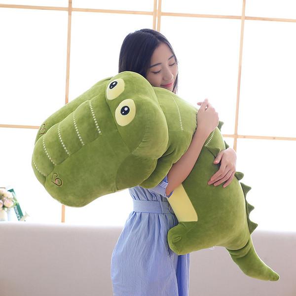 Big Size Simulation Crocodile Plush Toy Crocodile Stuffed animals Cushion Super soft Pillow Toys For Children gift