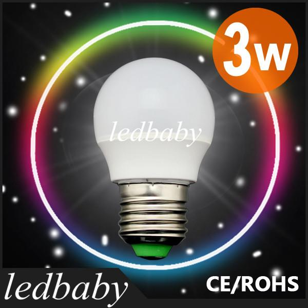 Free shipping wholesale Led Bulb Lamp E27 220V-240V 3w SMD Led Bulb 10pcs/lot E27 Cold/ Warm White Energy Saving Led Light