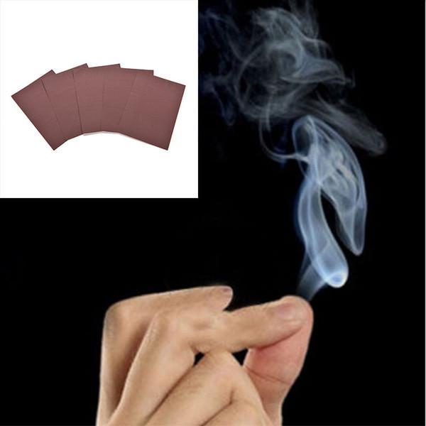 10pcs magie fumée de bouts de doigts astuce tour magique surprise blague blague mystique amusant jouet