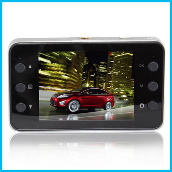 "Car DVR Recorder K6000 w/ Retail Box Full HD Vehicle Cameras Camcorder 2.4"" 1080P Vehicle Black box DVR Night Version Lens Dvrs 32pcs DHL"