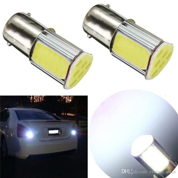 2 stücke Auto Licht COB Led-lampe 1156 BA15S P21W Auto Auto Bremsleuchte Parken Stop Schwanz Blinker Glühlampen