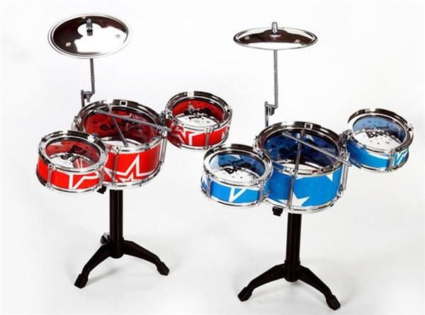 Giocattoli per bambini Strumento per bambini Giocattoli per bambini Hot Kids Strumento di simulazione grande Moda bambini Drumming Toy Allegati allo sgabello