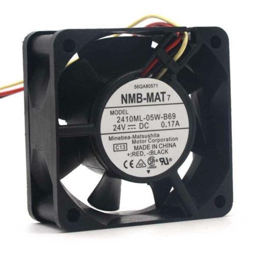 1pc SUNON KDE2406PTS3 24V 1.4W Cooling Fan 60*60*25MM 2pin