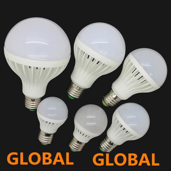 best selling High Brightness Led bulb E27 3W 5W 7W 9W 12W 15W 220V 5730 SMD LED light Warm Cool White LED Globe Light Energy Saving Lamp free shipping