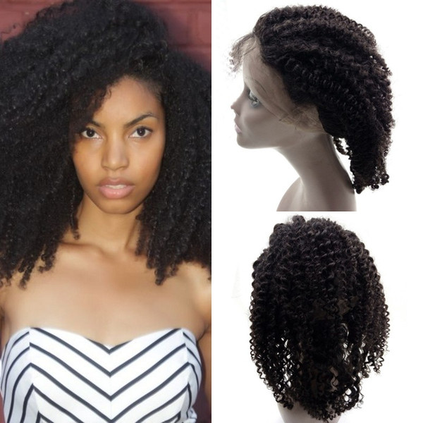 Vietnamese Human Hair 360 Frontal Pre Plucked Afro Kinky Curly 360 Lace Frontal for Black Women FDshine