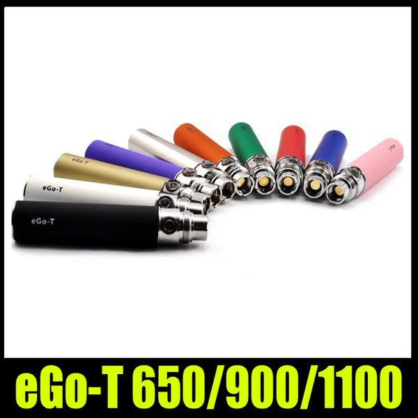 E Sigara EGO-T ego c ego w için DHL Ücretsiz EGO T Pil 5 v Iplik maç CE4 CE5 CE6 Atomizer