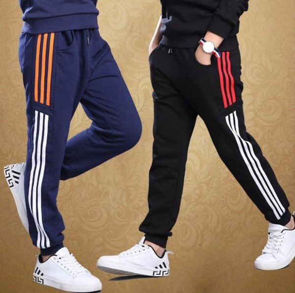 Big Boys sports pants autumn trousers thick children's leisure Clothing Running children's clothing cotton trousers kid297