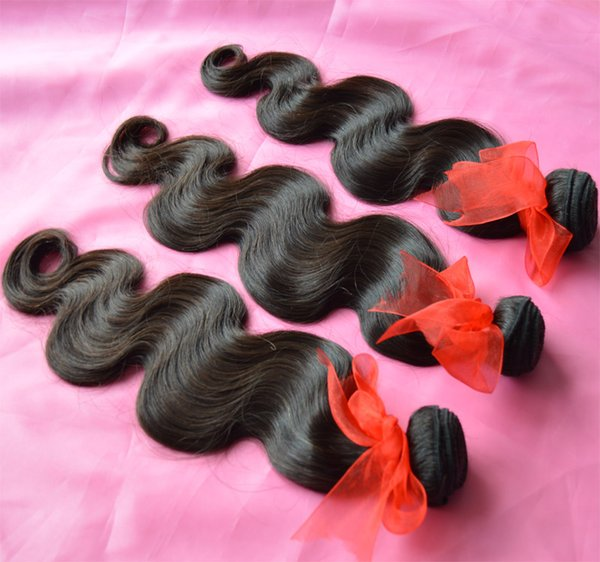 Cheap Hair 6Pcs Lot Malaysian Virgin Hair Body Wave Wavy Grade 8A Unprocessed Remy Human Hair Weave Bundles Natural Color Extensions Dyeable