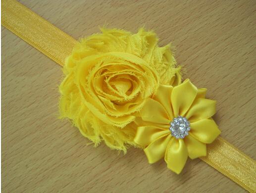 Flower hair band children headband baby hair accessories headdress hair accessories 20pcs