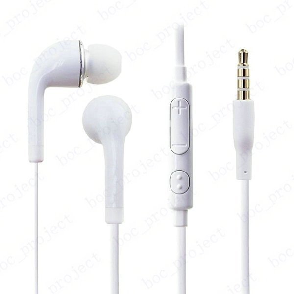 best selling In-Ear Stereo Earphone 3.5mm Headphone Headset with Mic and Remote for Samsung S6 edge S5 S4 Note5 Note4 1000pcs lot