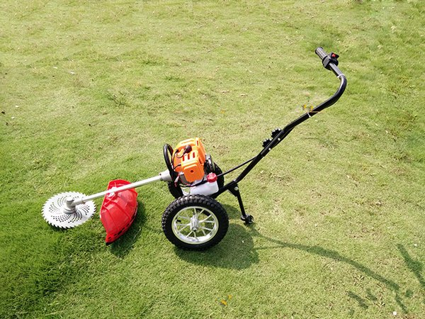 New Arrival Household Grass Cutter Gas Grass Trimmer Garden Tools For Home Push Lawn Mower Free Shipping